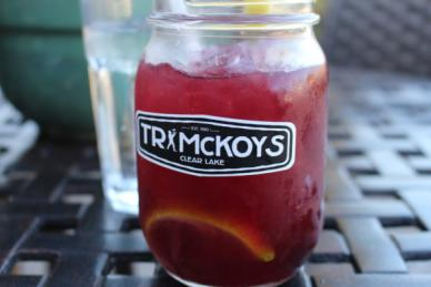 Summer sangria from T R McKoys.