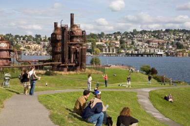 Best City Views in Seattle Gas Works Park