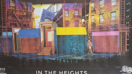In the Heights set at Geva Theatre