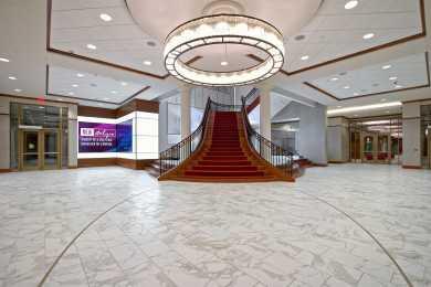 Pastides Alumni Center Lobby