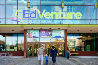 EdVenture Entrance