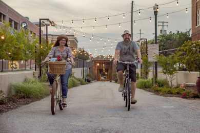 Riding Bikes in The Vista