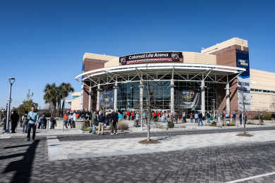 Colonial Life Arena Front View