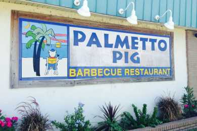 Palmetto Pig Outside Logo