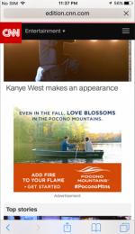 2017 Fall Marketing Campaign - Online - Pocono Mountains Visitors Bureau - CNN.com
