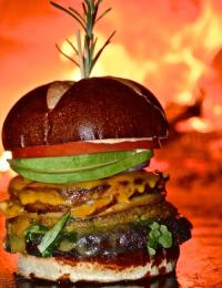 GreenFire hamburger