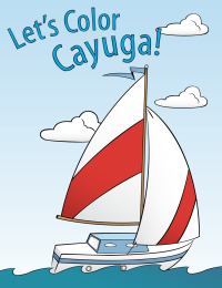 Let's Color Cayuga - Downloadable Coloring Book for all Ages to Enjoy