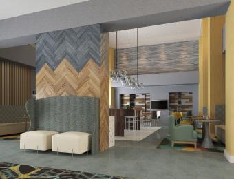 Hampton Airport Lobby 2 Visit Wichita