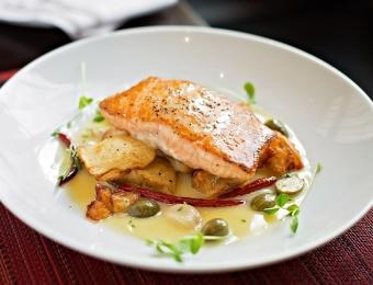 Siena Tuscan Steakhouse Salmon