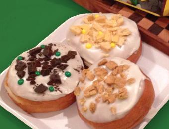 Paradise Donuts 3 donuts Visit Wichita