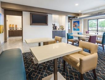 La Quinta Inn Airport Breakfast Area partner provided Visit Wichita