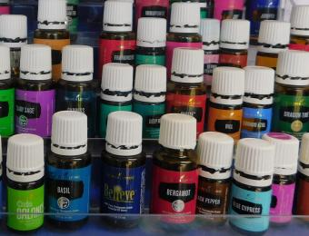 A. Jay Health Wellness Essential Oils Options