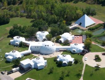 Riordan Aerial Visit Wichita