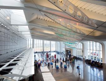 Dwight D. Eisenhower Airport Interior
