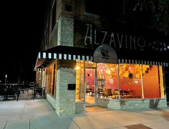 Alzavino Wine Tavern exterior