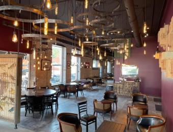 Alzavino Wine Tavern interior