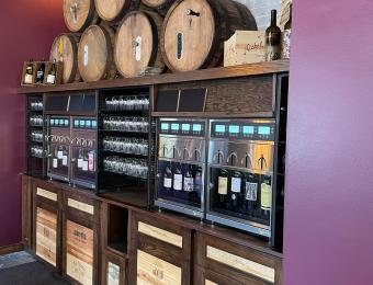 Alzavino Wine Tavern wine tap