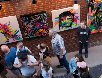 Gallery Alley art Visit Wichita