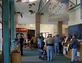 Great Plains Nature Center Interior