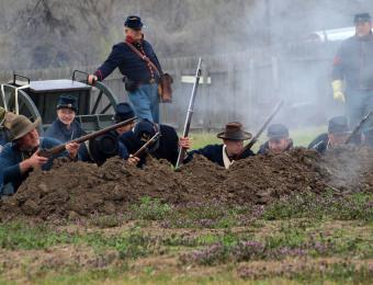 Civil War Reenactment at Old Cowtown