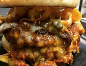 Emerson OT bacon cheeseburger Visit Wichita