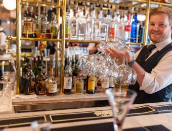 Georges bartender Visit Wichita