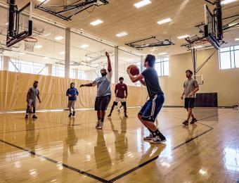 YMCA DT basketball court Visit Wichita