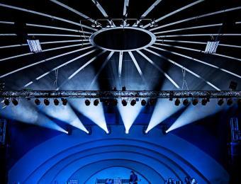 Cotillion blue band shell Visit Wichita