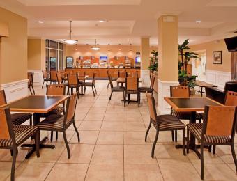 Holiday Inn Exp A/P Breakfast Visit Wichita