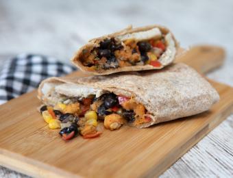 Breakfast SW Veggie Burrito Cocoa Dolce