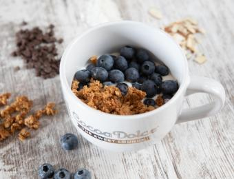 Breakfast Yogurt from Backbone Yogurt Company Cocoa Dolce