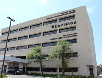 Envision building Visit Wichita