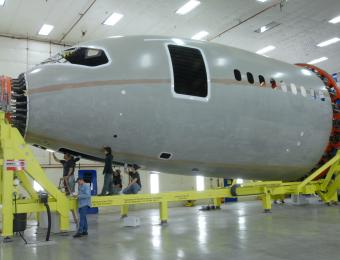 pirit AeroSystems_B787 Nose Section