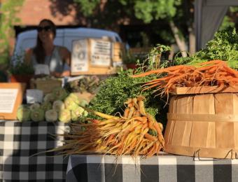OT Farmer's Market carrots Visit Wichita