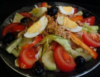 The Kitchen chef salad Visit Wichita
