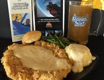 Stearman Bar/Grill Chicken fried Visit Wichita