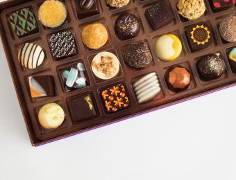 Cocoa OT chocolate closeup Visit Wichita