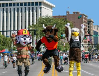 Parks & Rec City Crew Visit Wichita