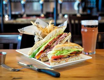 BTown West club sandwich Visit Wichita