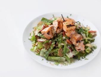 Meddy's_Large Salmon Salad