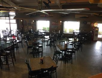 Stearman Bar/Grill Dining Area Visit Wichita