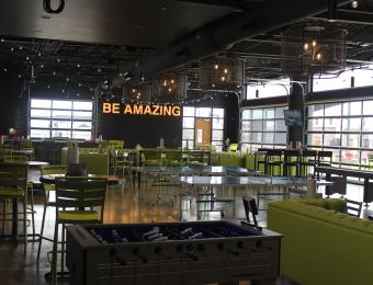 Chix/Pickle dining area Visit Wichita