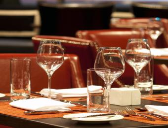 Sienna Tuscan Table Setting