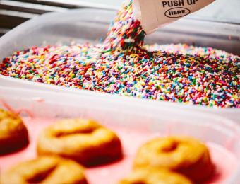 DonutWhole. Donut Sprinkles