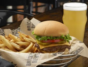 BTown East double burger beer Visit Wichita