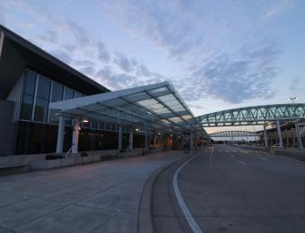 Dwight D. Eisenhower Airport Exterior 2