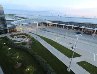 Dwight D. Eisenhower Airport Exterior 1