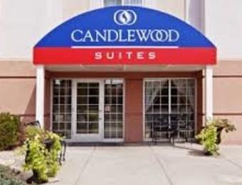 Candlewood Airport Entrance Visit Wichita