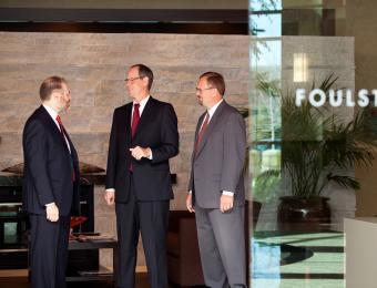 Foulston Executives Visit Wichita