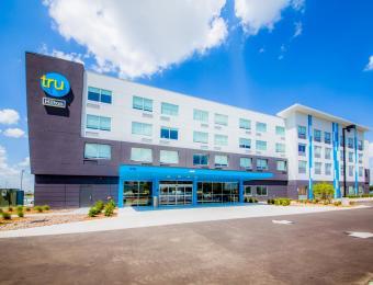 Exterior Tru by Hilton Wichita partner provided Visit Wichita